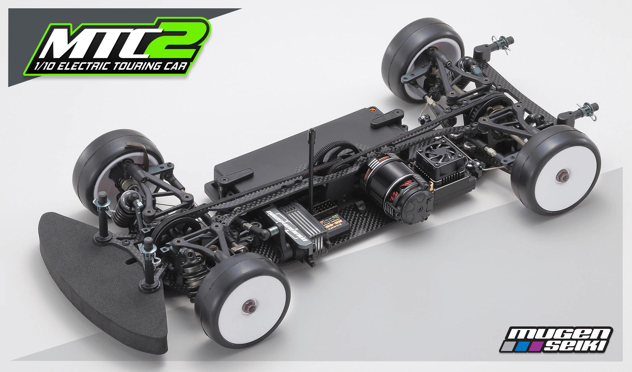 Mugen Seiki MTC2 1/10 Electric Touring Car Kit (Carbon Chassis)