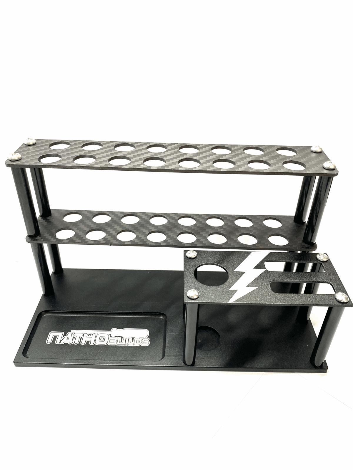 NathoBuilds Aluminium/Carbon Tool Stand