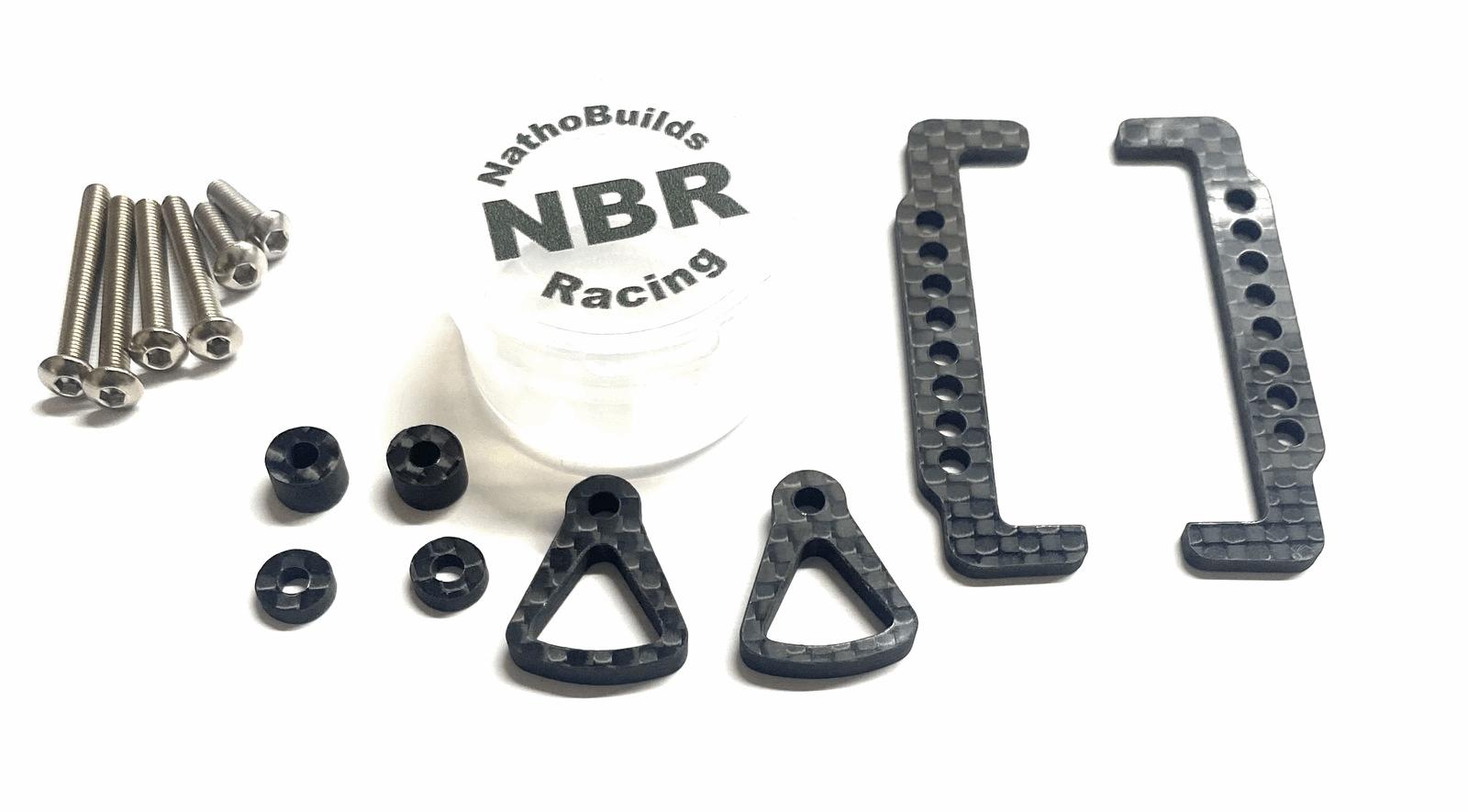 NathoBuilds Carbon Battery Strap X-Ray XB2 2020/2021