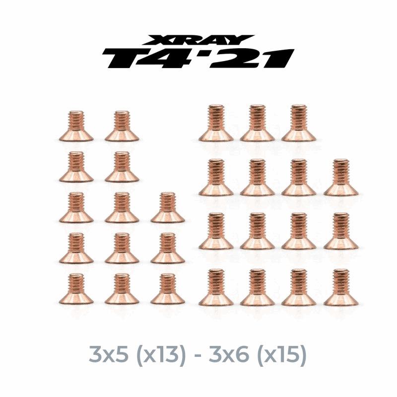 OfficinaRC Millionaire Tungsten HFS Kit for Xray T4 `21 (28)