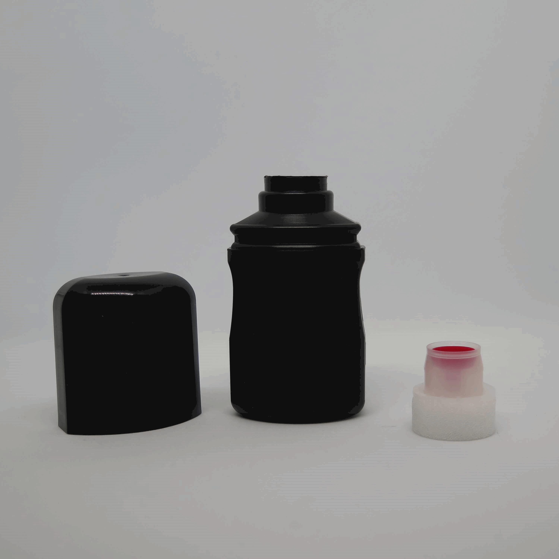PHUB Empty Bottle for Tire Sauce with Application Sponge (60ml)