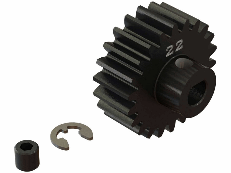 RCRING ARRMA HD Pinion Gear M1 22T
