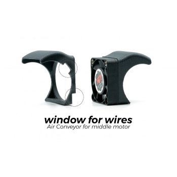 Air Conveyor for 40mm Cooling Fan - for Mid Motor Cars