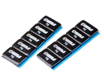 SMJ Racing Weight (Black/5g/10pcs)
