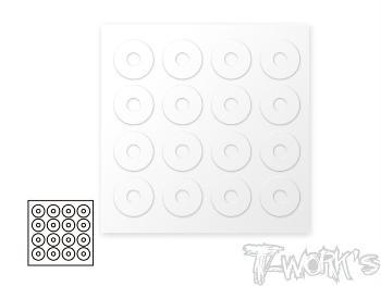 T-Work/s 1/10 Body Post Protectors 6 x 20mm (16)