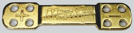 RCRING Battery Bar  SMH Type Gold (10pcs)