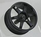Ride 6-Spoke, Black, 4pc-set