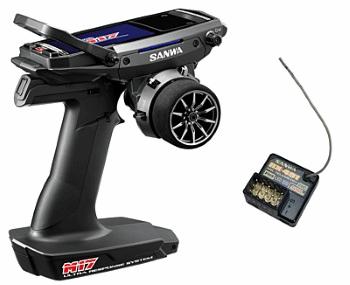 Sanwa M17 Radio + RX-491 Receiver