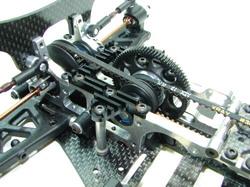 SpeedTech Aluminum Heat Sink Center Brace for Xray T2