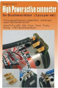 Speedpassion High power active connector for Brushless motor (3pcs per set)