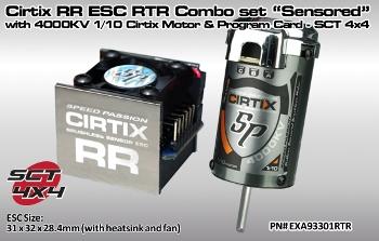 Speedpassion Cirtix RR ESC RTR combo set
