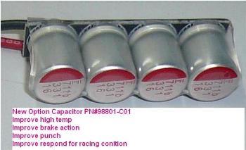Speedpassion Option Capacitor