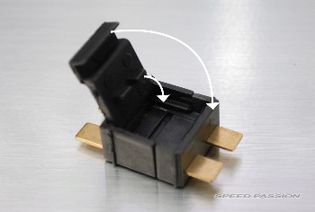 Speedpassion 5MM Ultra High active power 2P battery connector