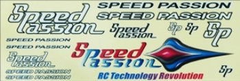 Speedpassion Logo Sticker Set