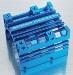 Ultra cooling motor heat sink (Blue)