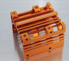 Ultra cooling motor heat sink (Orange)
