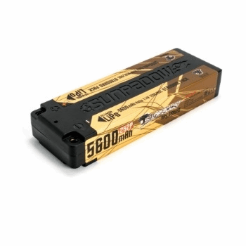 Sunpadow LiPo Battery 7.4V 2S 5600mAh 120C/60C