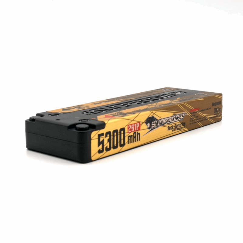 SUNPADOW 7,4V 5300MAH 130C/65C LIPO BATTERY TOP SERIES