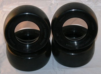 Swedish Edition 1:10 SLICKS FOR 4wd SHORT COURSE CARPET RACING Front/Rear (no foam)