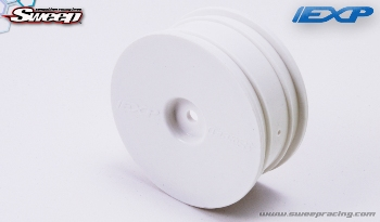 Sweepracing Sweep EXP Dish Wheel White (4wheels)