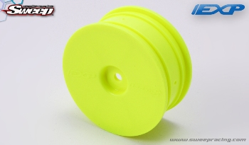 Sweepracing EXP Dish Wheel Yellow (4wheels)