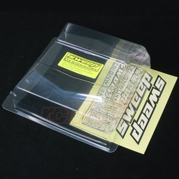 Sweepracing Sweep 1/10 buggy clear wing 6.5
