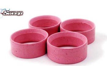 Sweepracing Mold tires Inserts Type A Pink (Soft) 4pcs