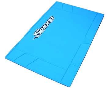 Sweepracing Sweep Silicone Pit Mat Large Blue
