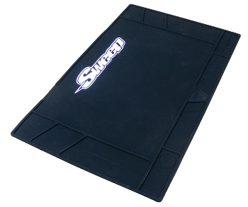 Sweepracing Sweep Silicone Pit Mat Large Black