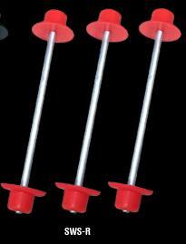 Sweepracing Sweep Tire Stocker Red 3Sset