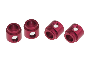 T.O.P. Racing Stabilizer Retainer Red (4 pcs)