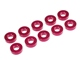 Ultra Wide 3mm x 2.0t Collar Red (10 pcs)