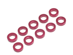 T.O.P. Racing 3mmx1.5t Collar Red (10pcs)
