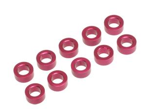 T.O.P. Racing 3mmx2.5t Collar Red (10pcs)