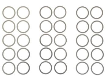 T.O.P. Racing 12 x 15 x 0.10.20.3mm Shim (each 10pcs)