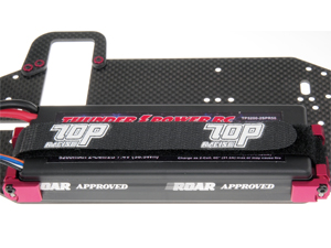 T.O.P. Racing Battery Mount Tape - Black