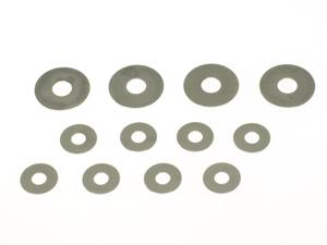 T.O.P. Racing Gear Diff Hard Shim Set ( Large 4pcs & Small 8pcs)