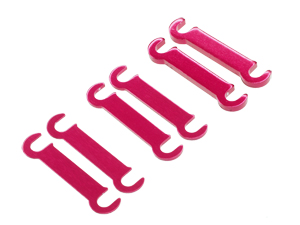 T.O.P. Racing Rebel - Reactive Adjuster Spacer Set (0.5 1 & 2mm each 2pcs)