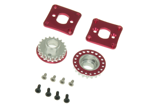 T.O.P. Racing Alloy 20T Center Pulley Set