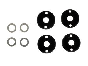 T.O.P. Racing Optional Shock Piston 1.2x2 Holes (4pcs)