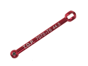T.O.P. Racing Aluminum Universal Bone 44.5mm (Red) (1pc)