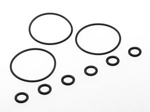 T.O.P. Racing Gear Diff. O-Ring Set (Large 3pcs & Small 6pcs)