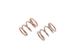 Rebel - Front Spring 0.45mm x 4.5 coils (2pcs)