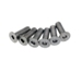 M3x10 Titanium Countersunk Head Hex Screws (6 pcs)