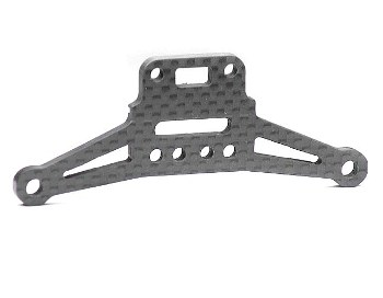 T.Tech Racing Carbon Fibre Pivot Pin Mounting Plate, 3.5mm (Front)