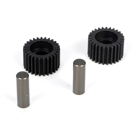 TLR Racing 22 Idler Gear & Shaft (2)