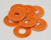 Team Br00d Phenolic Washers 6pcs