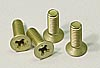 Team CRC Alum 82 degree screws-Frnt end