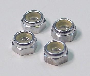 Team CRC Aluminum Locknuts (4)