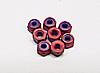 Team CRC 2-56 mini locknuts (red) (8)